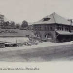 Amelia Flats and Union Station, Akron, Ohio