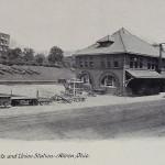 Amelia Flats and Union Station, Akron, Ohio
