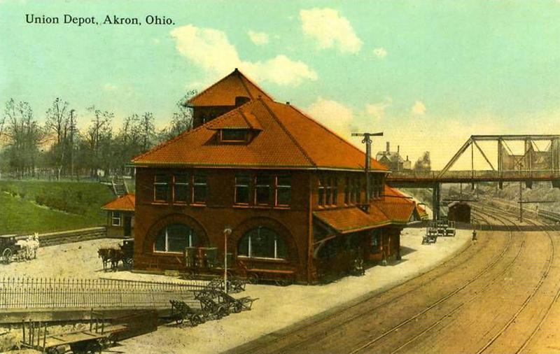 Union Station Akron Postcards