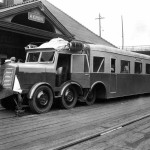 Micheline Train at Akron's Union Station
