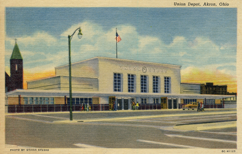 Union Depot, Akron Ohio