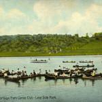 Akron, Ohio. Portage Path Canoe Club - Lake Side Park.
