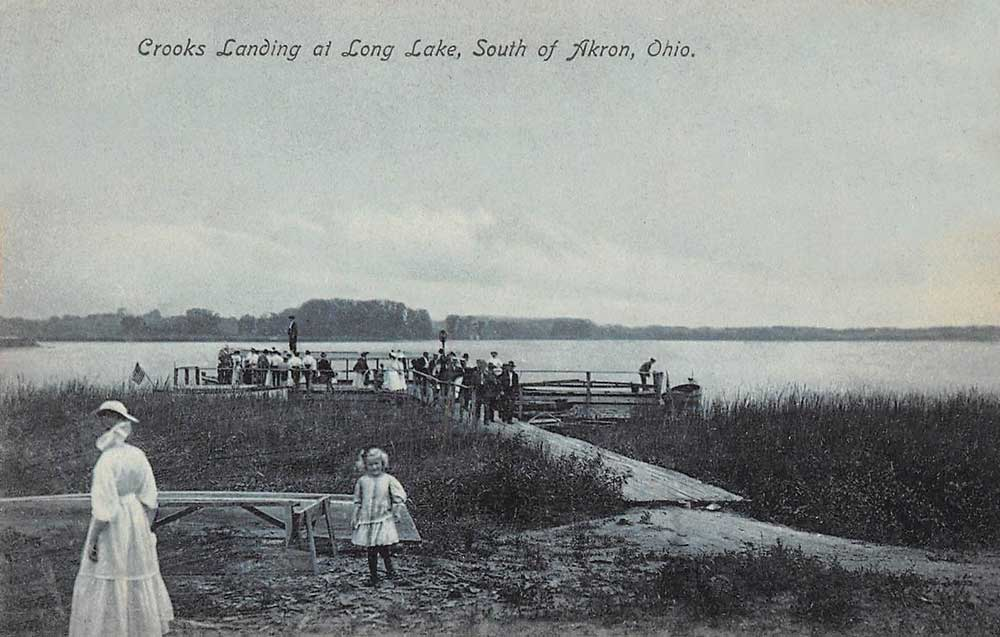 Crooks Landing at Long Lake, South of Akron