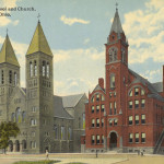 St. Bernards School and Church, Akron, Ohio
