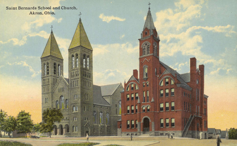 St. Bernard's School and Church, Akron, Ohio