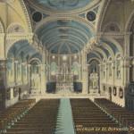 Interior of St. Bernard's Church, Akron, Ohio