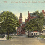 S. Forge St. showing High School, Akron, Ohio