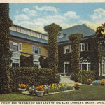 Court and Terrace of Our Lady of the Elms Convent, Akron, ohio