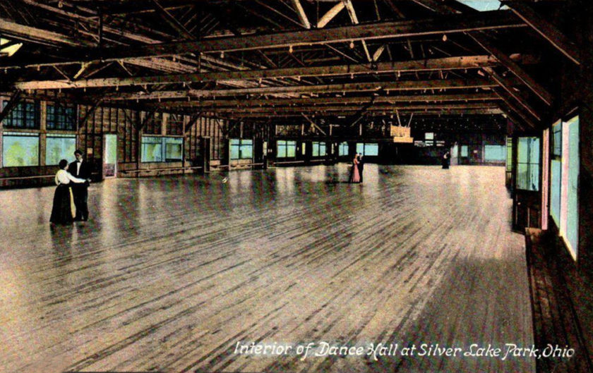 Silver Lake Park Dance Hall, near Akron, Ohio