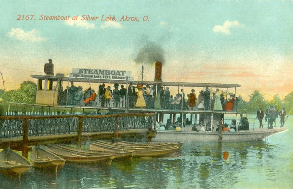 Steamboat on Sliver Lake