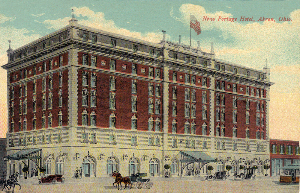 New Portage Hotel, Akron, Ohio
