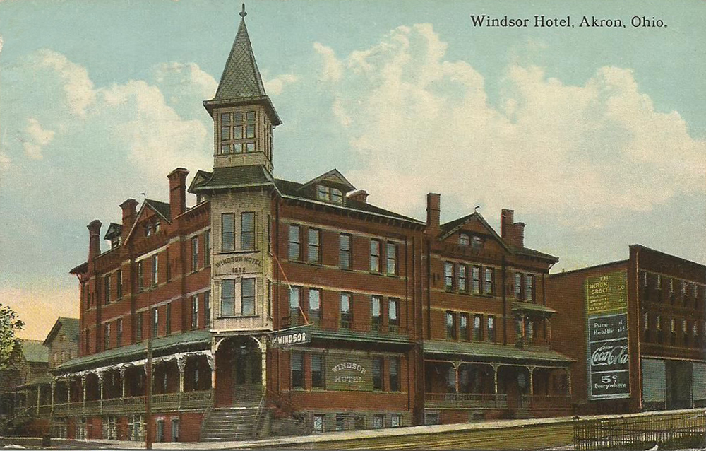 Windsor Hotel - Akron, Ohio