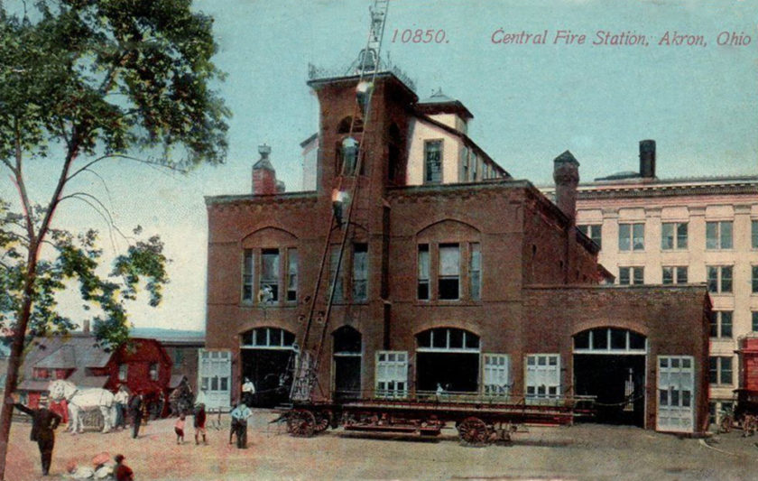 Central Fire Station, Akron, Ohio