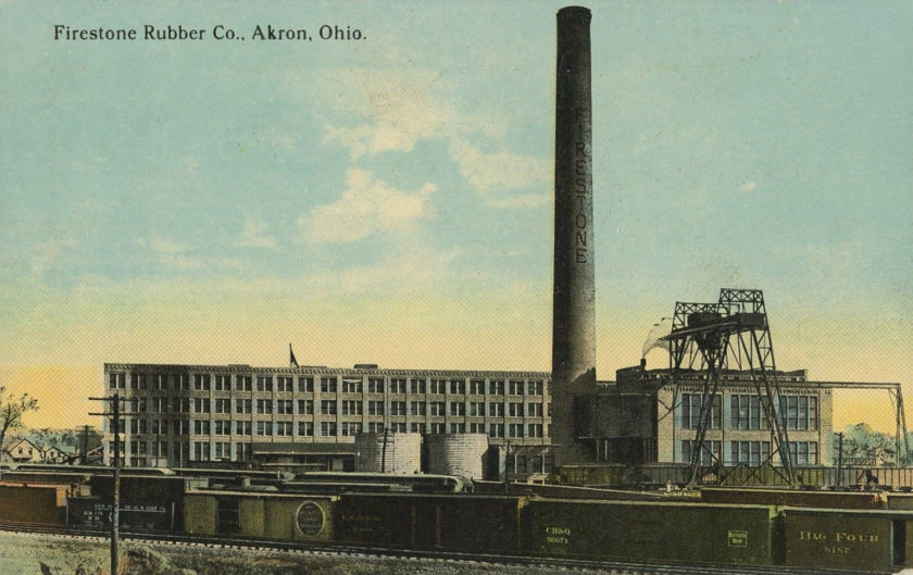 Factory Archives Akron Postcards