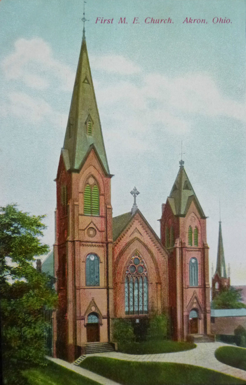 First M.E. Church, Akron, Ohio