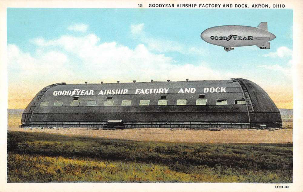 Goodyear Airship Factory and Dock