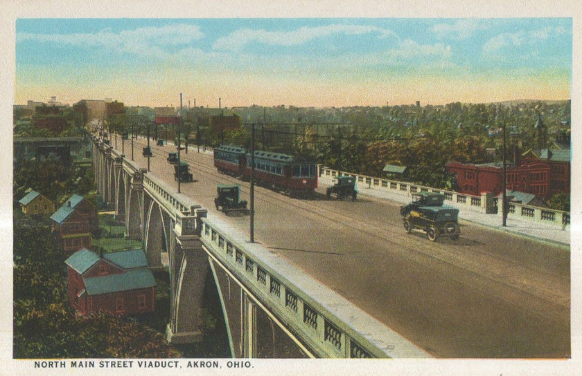 North Main Street Viaduct, Akron, Ohio