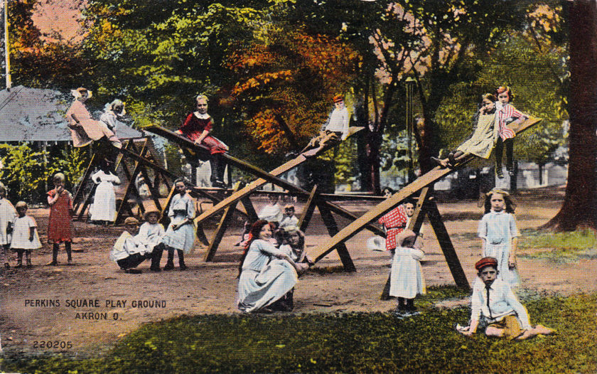 Perkins Square Play Ground, Akron, Ohio