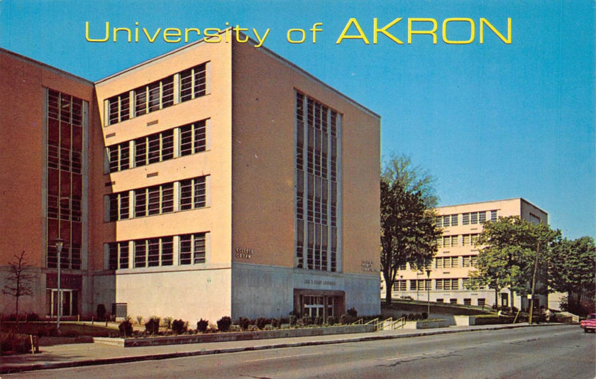 University of Akron, Akron, Ohio