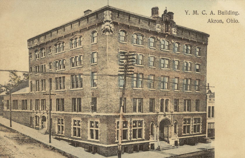 YMCA building, Akron, Ohio