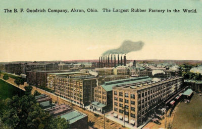 Largest Rubber Factory in the World, Akron, Ohio