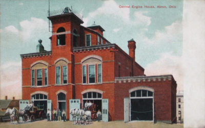 Central Engine House (Fire Station), Akron, Ohio