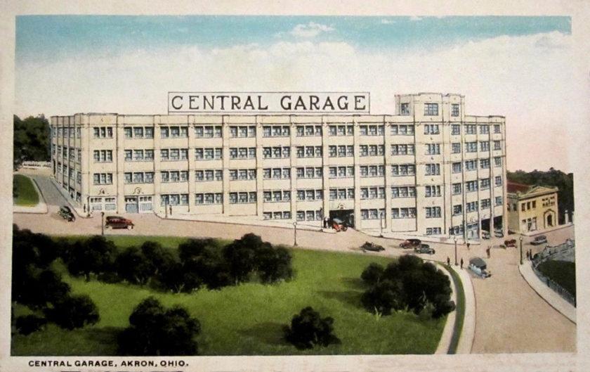 Central Garage, Akron, Ohio