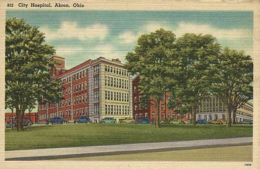 City Hospital, Akron, Ohio