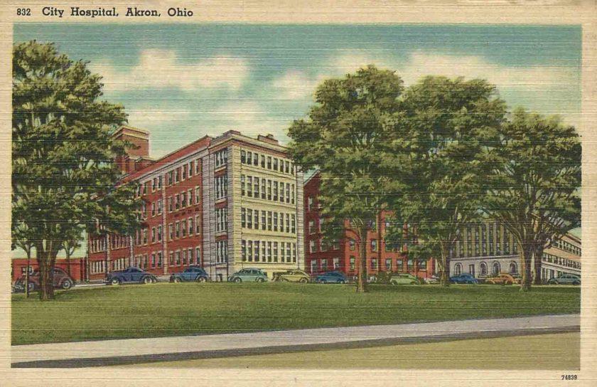 City Hospital, Akron, Ohio