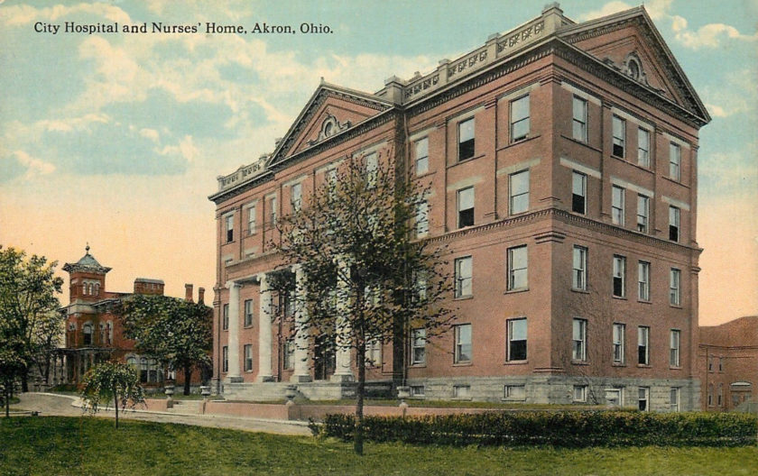 City Hospital and Nurses' Home, Akron, Ohio