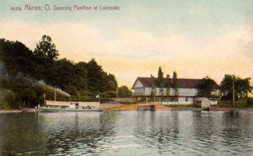 Lakeside Park, Dance Pavilion, Summit Lake, Akron, Ohio