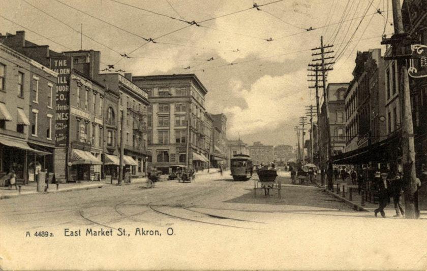 East Market Street, Akron, Ohio