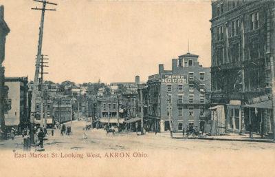 East Market Street Looking West, Akron, Ohio
