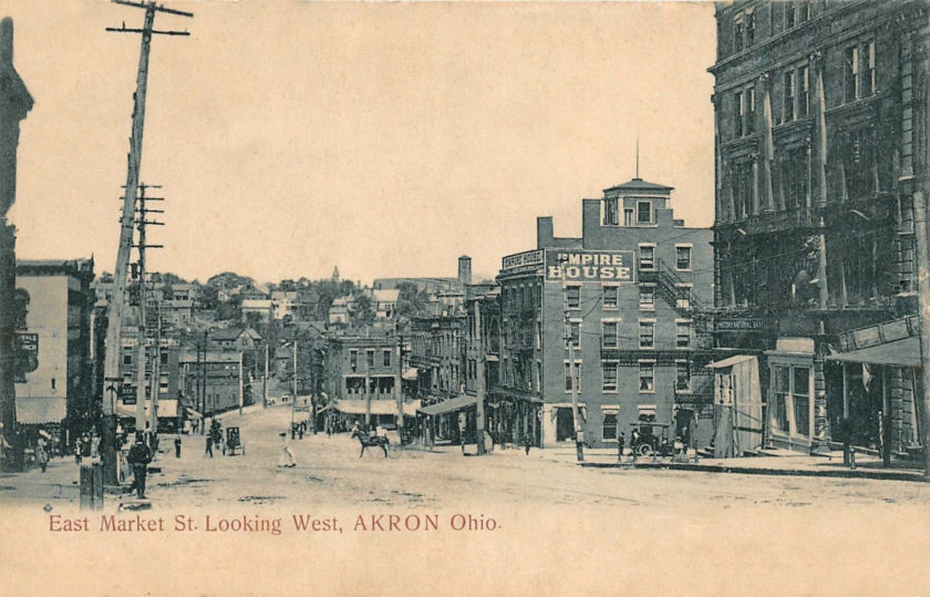 East Market Street Looking West, Akron, Ohio