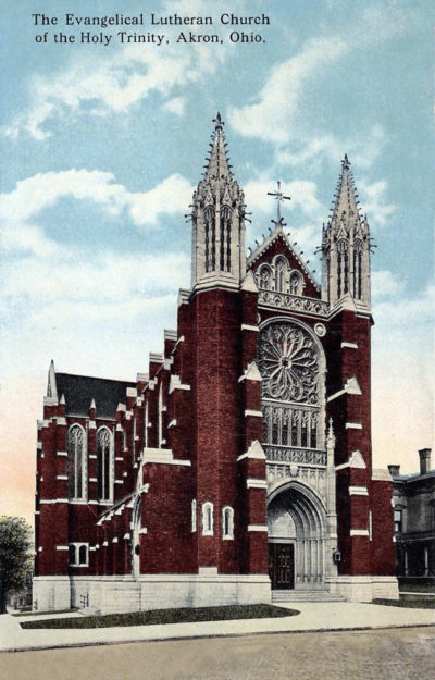 The Evangelical Lutheran Church of the Holy Trinity, Akron, Ohio