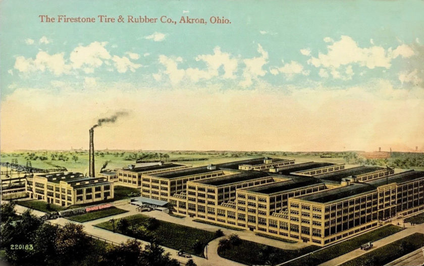 Firestone Factory, Akron, Ohio