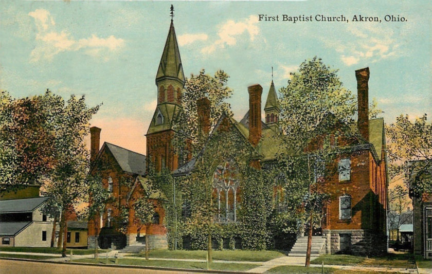 First Baptist Church, Akron, Ohio