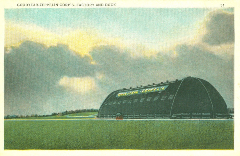 Goodyear-Zeppelin Corp's Factory and Dock