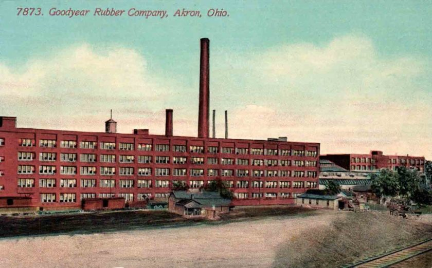Goodyear Rubber Factory, Akron, Ohio