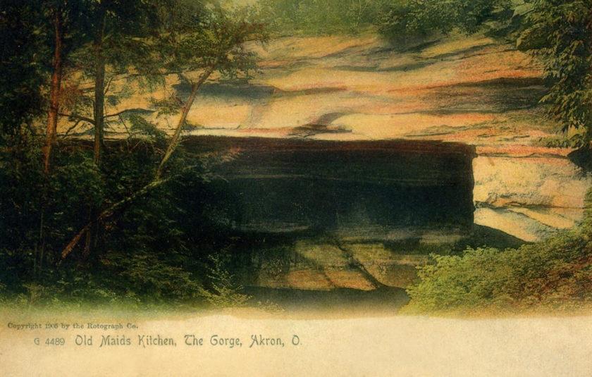 Old Maids Kitchen, Gorge, Cuyahoga Falls/Akron, Ohio