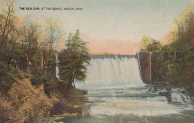 New Dam at the Gorge, Akron/Cuyahoga Falls, Ohio