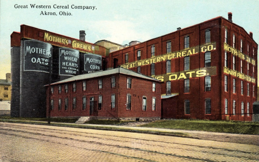 Great Western Cereal Company - Mother's Oats, Akron, Ohio