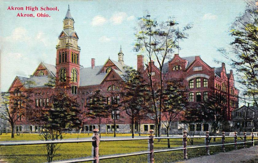 Akron High School, Akron, Ohio