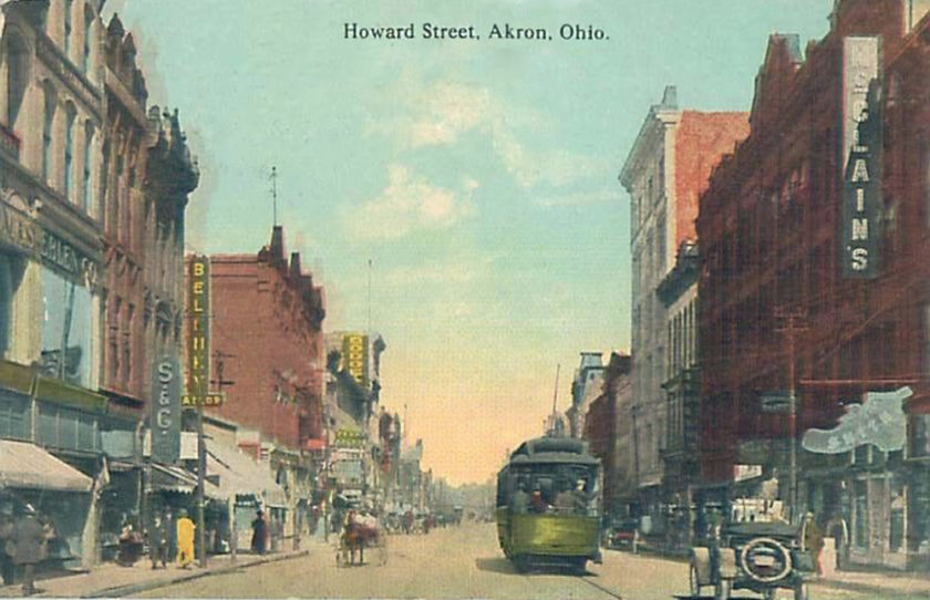 Howard Street, Akron, Ohio