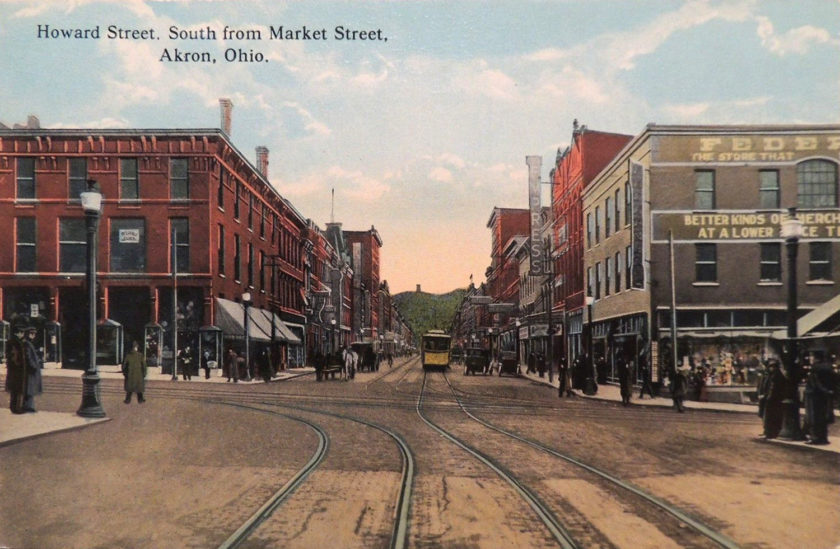 Howard Street, South from Market Street