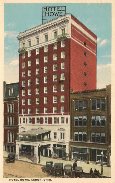 Howe Hotel, Akron, Ohio