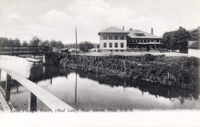Young's Resort on Mud Lake, Akron, Ohio