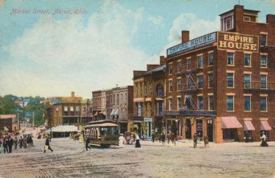 Market Street, Akron, Ohio