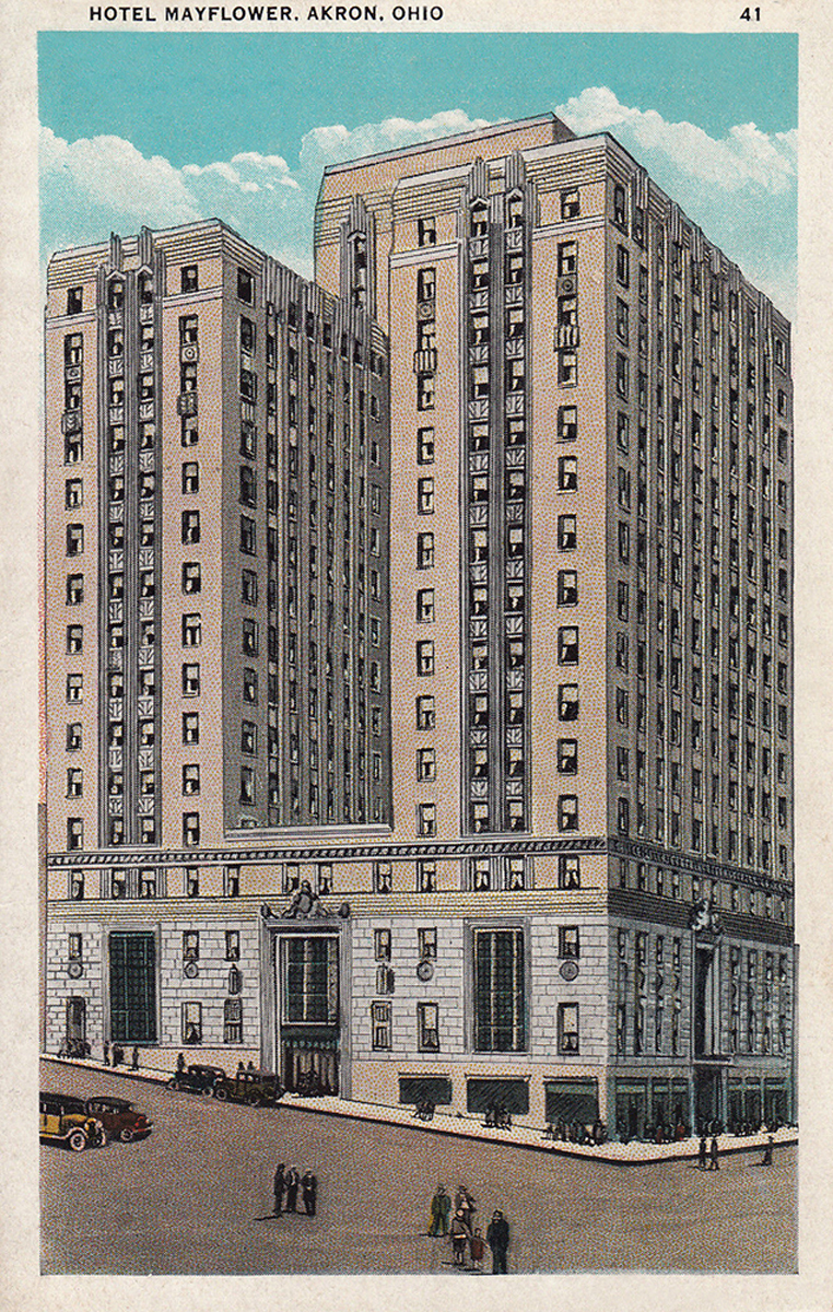 Mayflower Hotel, Akron, Ohio