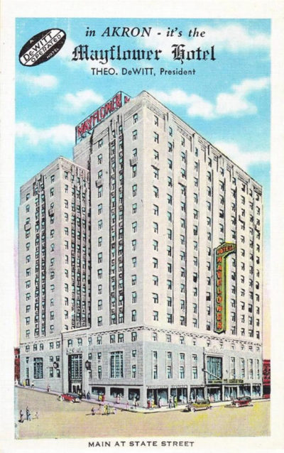Mayflower Hotel - Operated by DeWitt Hotels, Akron, Ohio